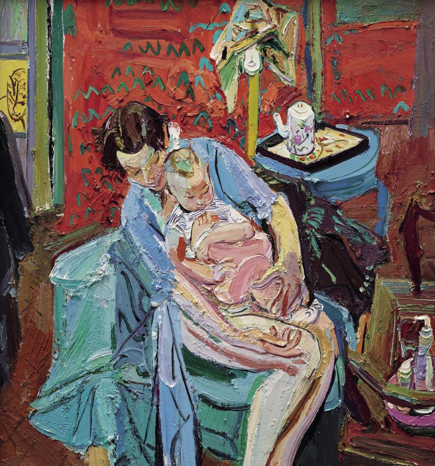 等你花儿开——闫平和她的油画有感